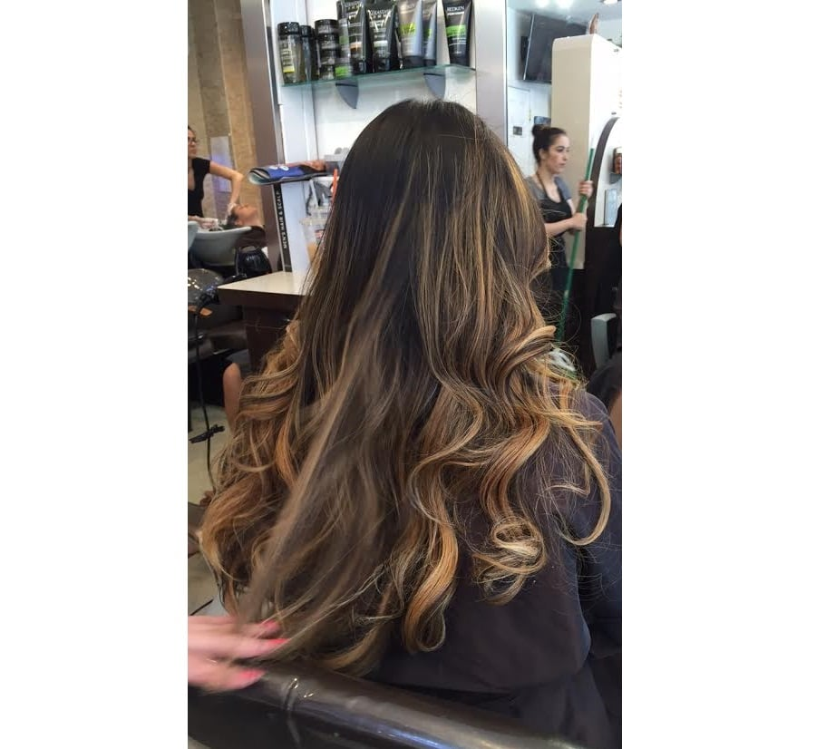 Love the new ombre yelp for Aaron emanuel salon