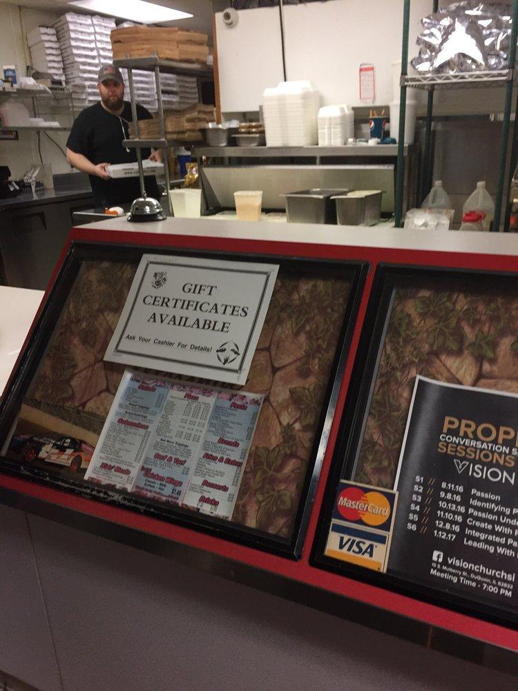 Rolando's Pizza: 11 S Washington St, Du Quoin, IL