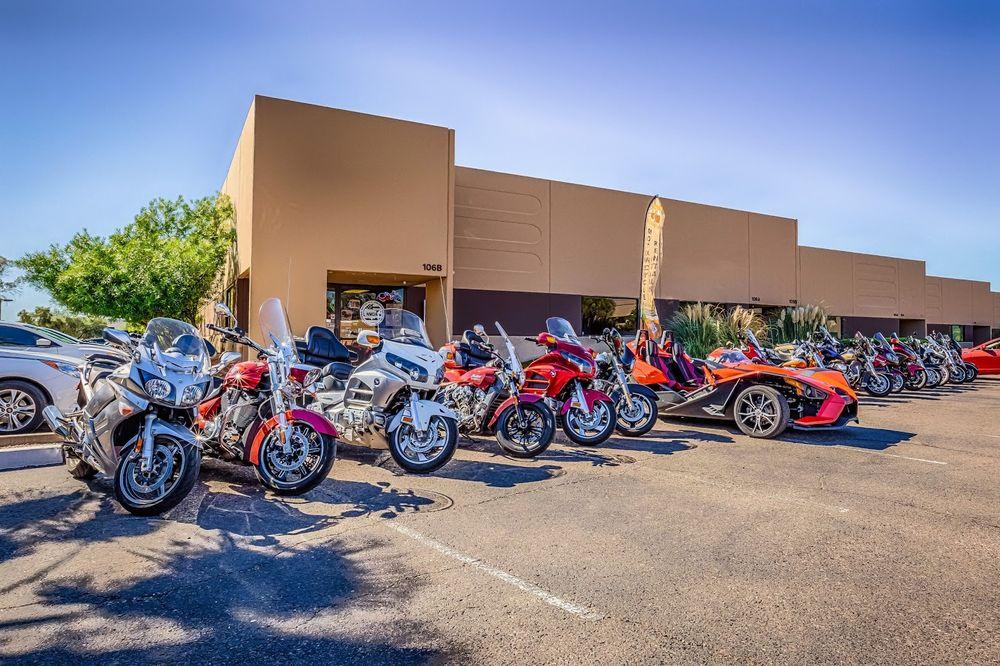 AZ Ride Motorcycle Rentals: 9419 E San Salvador Dr, Scottsdale, AZ