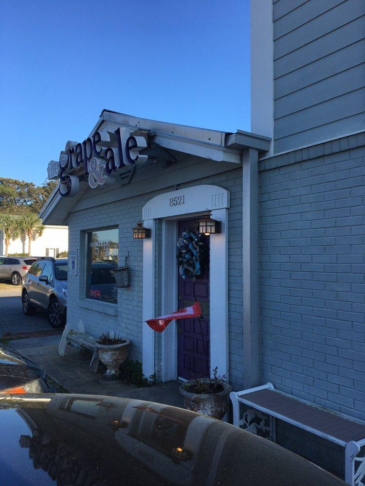 The Grape & Ale: 8521 E Oak Island Dr, Oak Island, NC