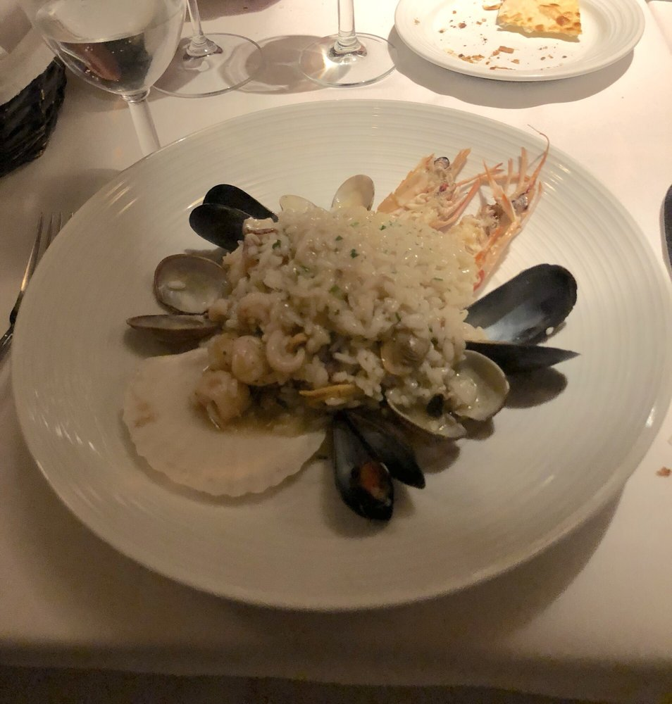 Seafood Risotto, Perfect Birthday Dinner.