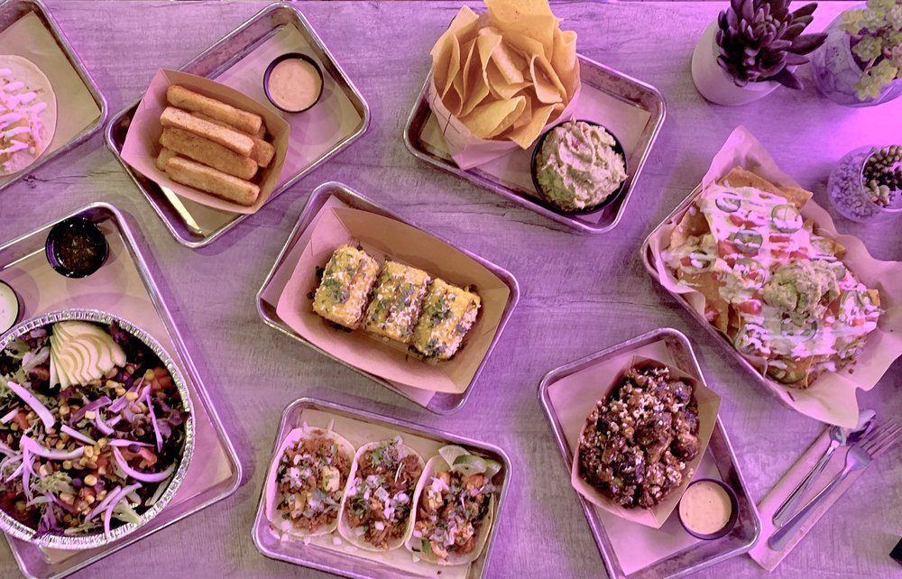 Food from Luna's Tacos And Tequila