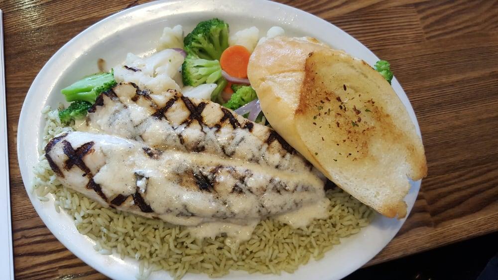 White Fish With Cilantro Rice I Requested Colantri