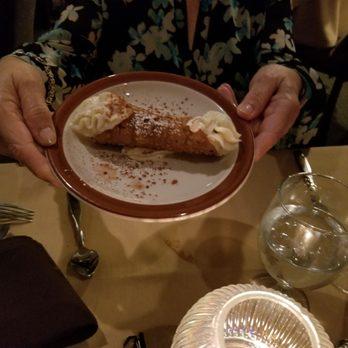Photo Of Piccolo Mondo Italian Restaurant Arlington Tx United States Canoli