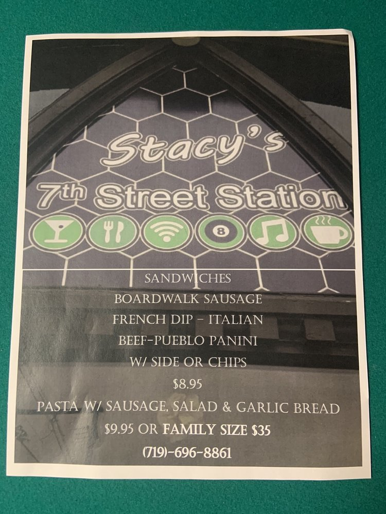 Stacy's 7th Street Station: 112 W 7th St, Pueblo, CO