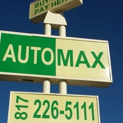 Photo Of Automax Car S Arlington Tx United States Sign