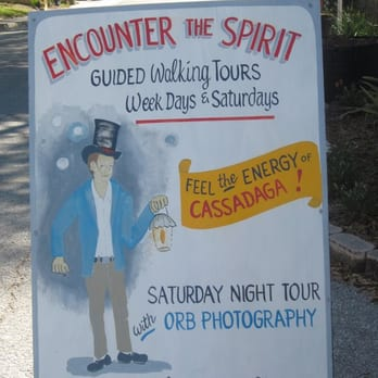 photo of cassadaga spiritualist camp cassadaga fl united states sign where tours - Cassadaga Halloween