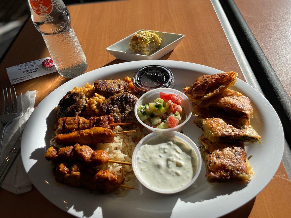 Food from Naci's Corner Cafe
