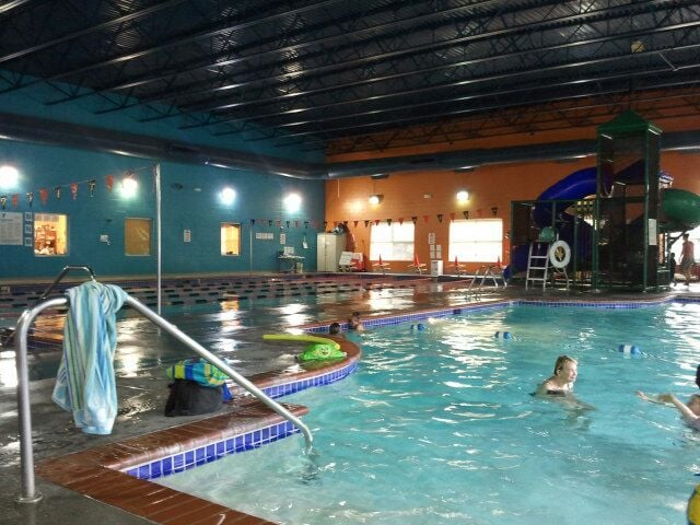Indoor pool where swim lessons are held yelp for Ymca with swimming pool near me