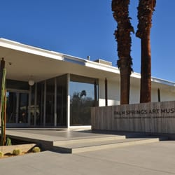 A Photo From The Exhibit Palm Springs Art Museum Architecture