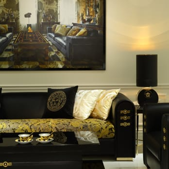 versace home furniture store downtown vancouver bc. Black Bedroom Furniture Sets. Home Design Ideas