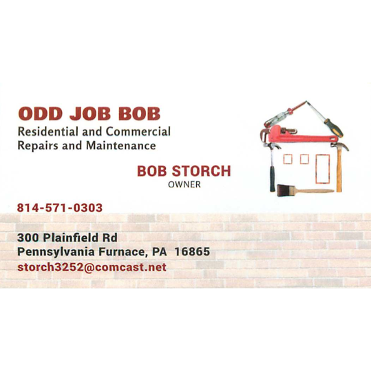 Odd Job Bob Contractors Pennsylvania Furnace Pa