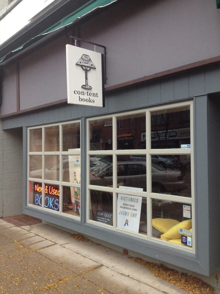 Content Bookstore - Used Bookstore - 314 Division St S, Northfield, MN -  Phone Number - Yelp
