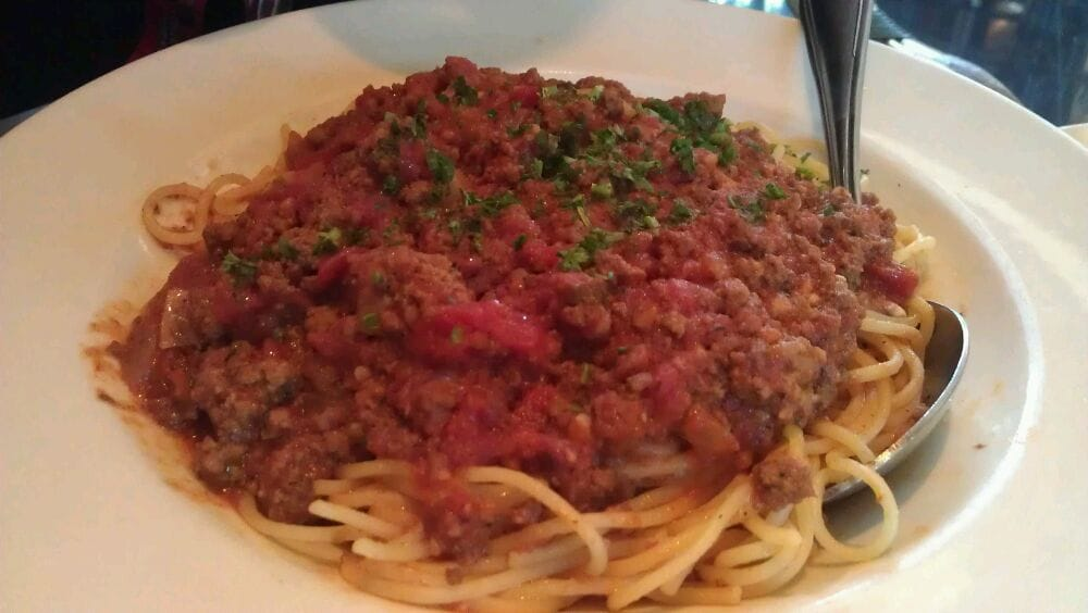 Lunch Pasta - Meat Sauce - Yelp