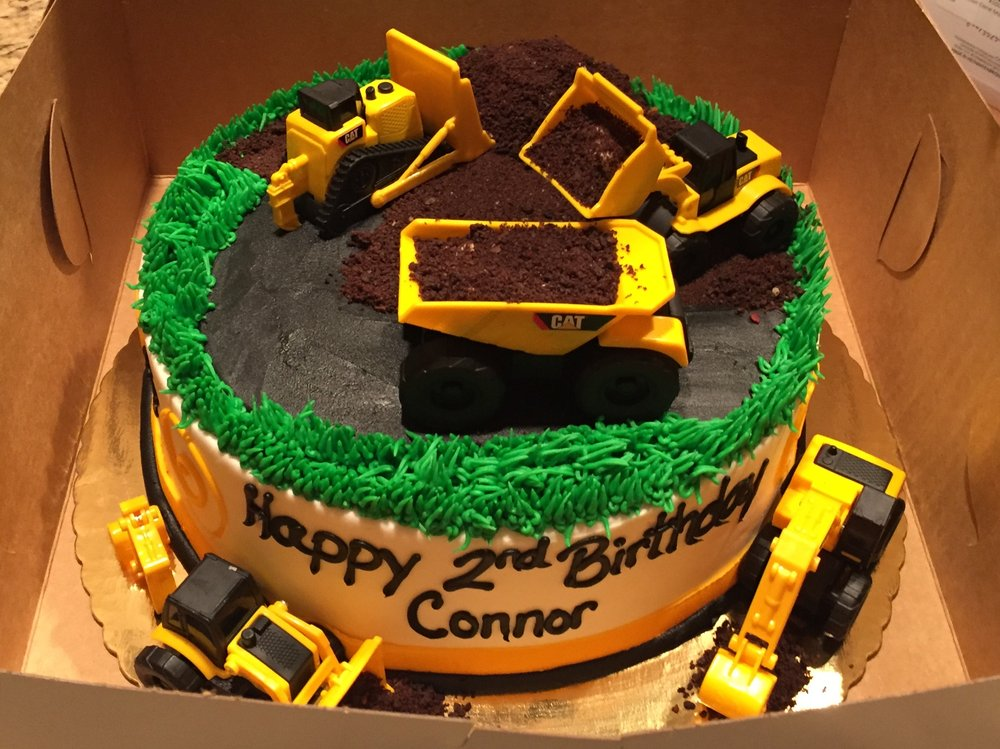 9 inch Construction themed birthday cake Yelp
