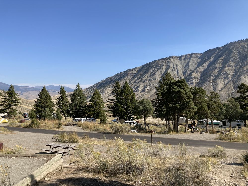 Photo of Mammoth Campground: Yellowstone National Park, WY