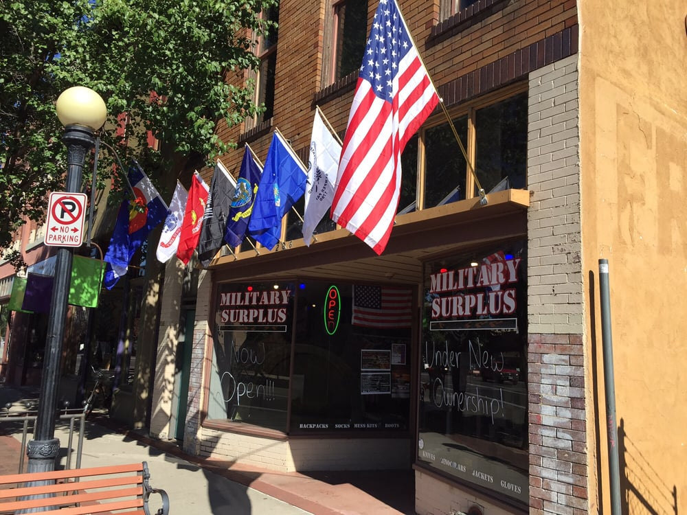 The Army Store: 206 S Union Ave, Pueblo, CO