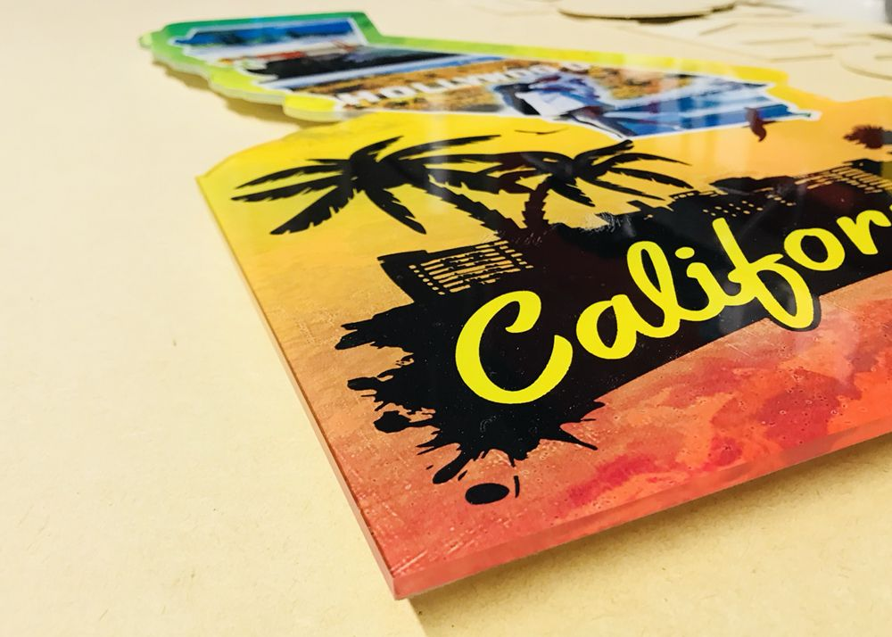 Custom Acrylic cut out frames - Yelp