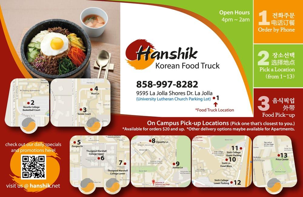 Best Korean Food In Hanshik Food Truck We Have Korean Style Chicken