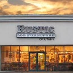Rustic Log Furniture Furniture Stores 551 N 1200th W