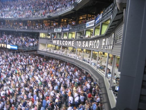 Press Boxes At Safeco Yelp