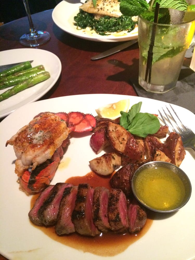 Ny steak medallion bites w lobster tail yelp for Mitchell s fish market rochester