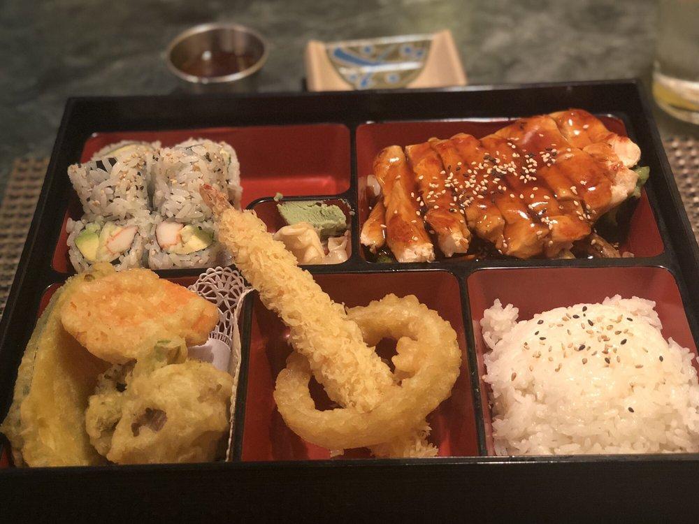 Food from Kiku Japanese Fusion
