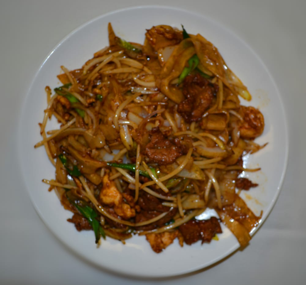 Lunch Special - Spicey Orange Chicken (NO SPICE at all), sweet and ...