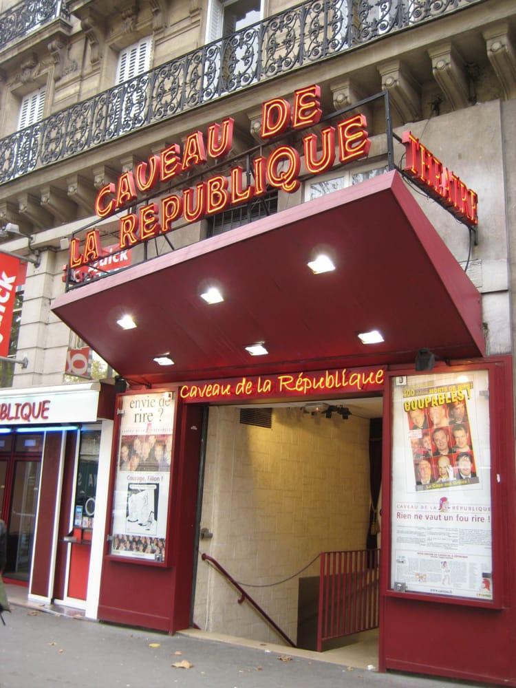 Caveau de la r publique 10 reviews comedy clubs 1 boulevard saint martin r publique - Restaurant boulevard saint martin ...