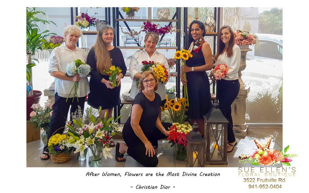 Sue Ellen's Floral Boutique: 3522 Fruitville Rd, Sarasota, FL