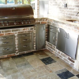 Photo Of Stainless Steel Fabricators   Tyler, TX, United States. Outdoor  Kitchen Componets