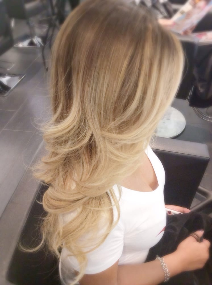 Blonde Ombre Balayage Color Correction By Jayden For Rosie O Yelp