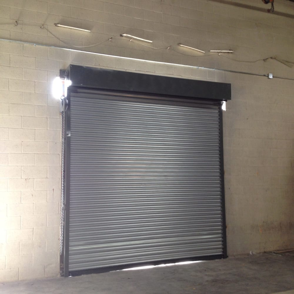 Steel roll up door ga galvanized slats dual