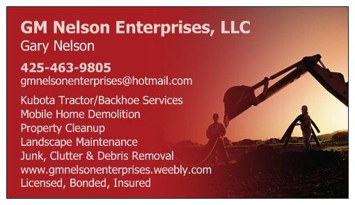 GM Nelson Enterprises: Duvall, WA