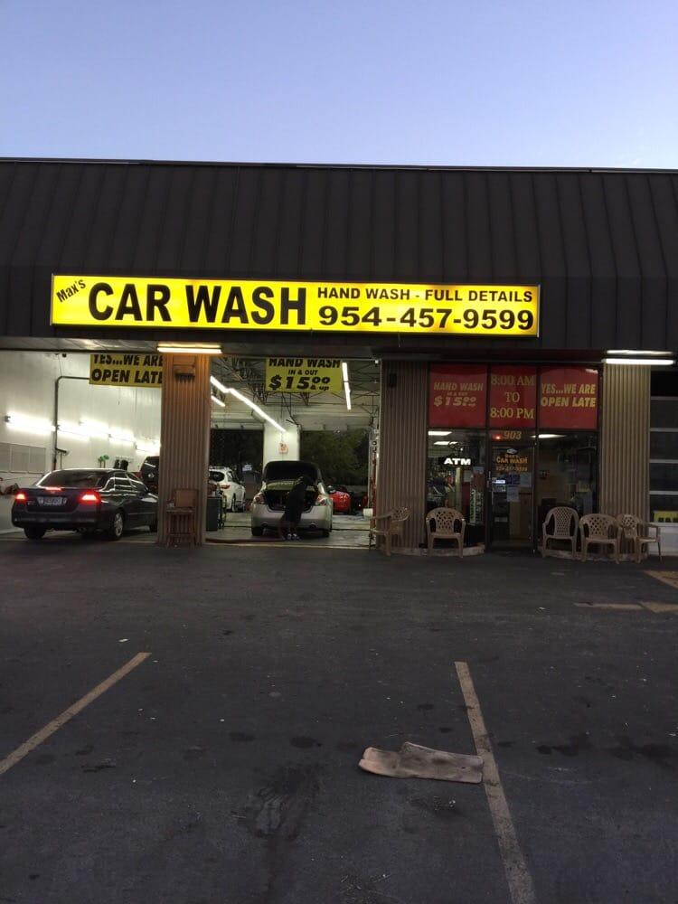 Max S Car Wash Hallandale