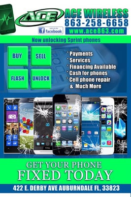 ACE Wireless - Mobile Phone Repair - 413 Magnolia Ave, Auburndale