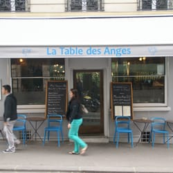 La table des anges 32 photos 26 reviews french 66 for Restaurant miroir rue des martyrs