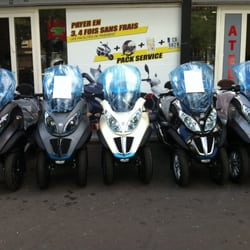 garage piaggio mp3 500 concessionnaire moto 21