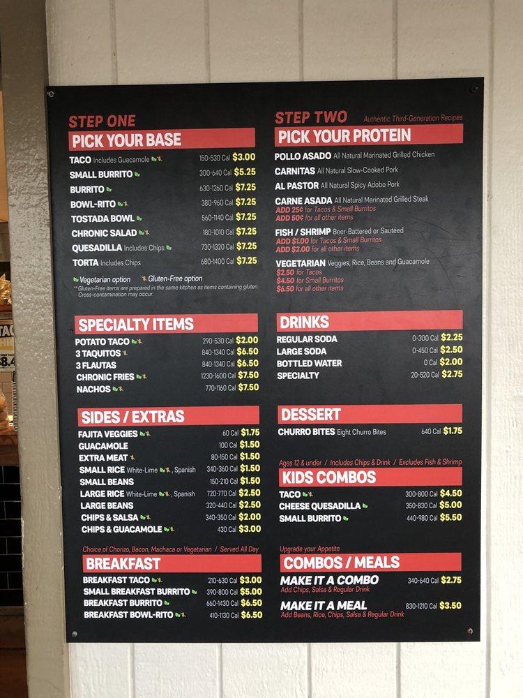 Chronic Tacos - Order Food Online - 68 Photos   253 Reviews ... fd9b2510aa8