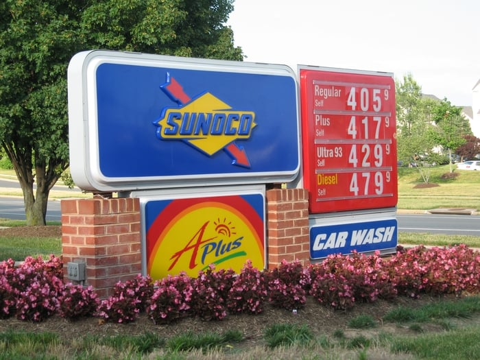 Sunoco/APlus Convenience Store: 44111 Ashburn Shopping Plz, Ashburn, VA