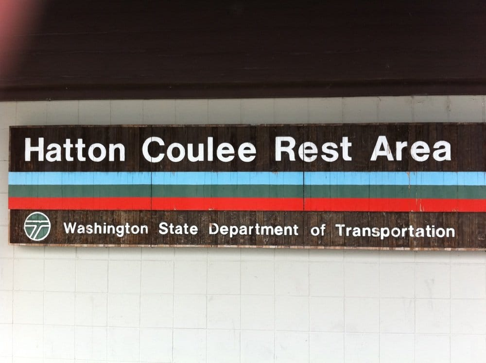 Hatton Coulee Rest Area: Mp 61 Multidirectional, Hatton, WA