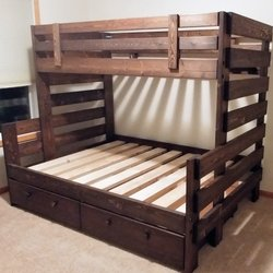 Delicieux Photo Of EA WoodWorks   Eagan, MN, United States. Twin Over Full Bunkbed