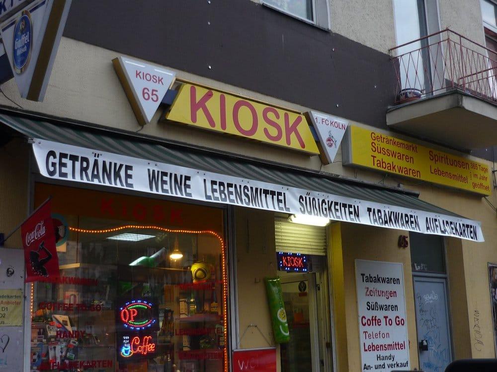 Kiosk 65 - Kiosk - Trierer Str. 65, Volksgartenviertel, Cologne ...