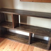 Exceptional Beautiful Serving Slabs Photo Of Alpine Furniture Company   Leadville, CO,  United States. Bookshelf Made Of
