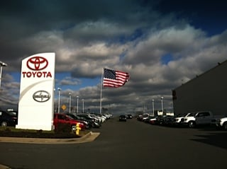 Delightful Photo Of Lustine Toyota   Woodbridge, VA, United States. Largest American  Flag In
