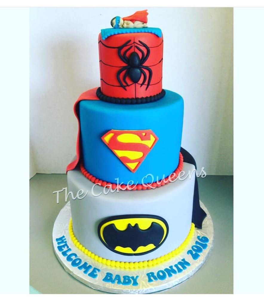 superhero baby shower cake superhero babyshower cake yelp