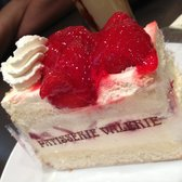 Photo Of Patisserie Valerie London United Kingdom Strawberry Gateau