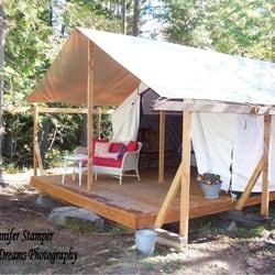 Photo of Huckleberry Tent and Breakfast - Clark Fork ID United States & Huckleberry Tent and Breakfast - Bed u0026 Breakfast - 180 Thunderbolt ...