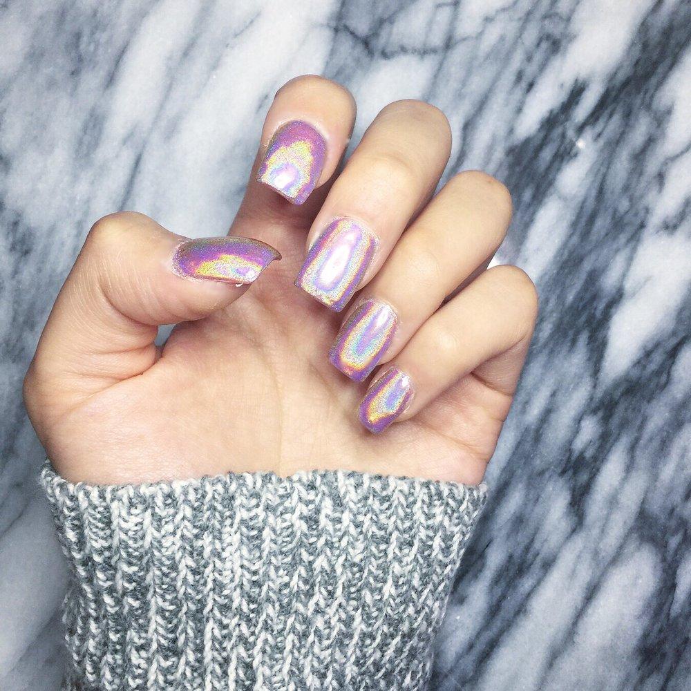 Holographic Nails from Lynn Nail Salon - Yelp