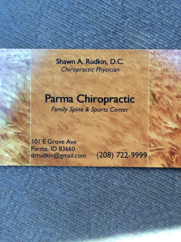 Parma Chiropractic: 101 E Grove Ave, Parma, ID